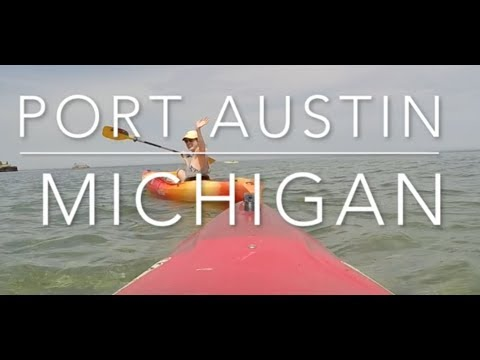 Port Austin, MI // Kayak and Camping //