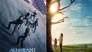 AJ's Movie Reviews: Allegiant & Miracles From Heaven(3-18-16)
