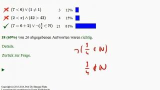 Aussagenlogik - Konjunktion, Disjunktion, Negation