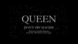 Watch music video: Queen - Don't Try Suicide