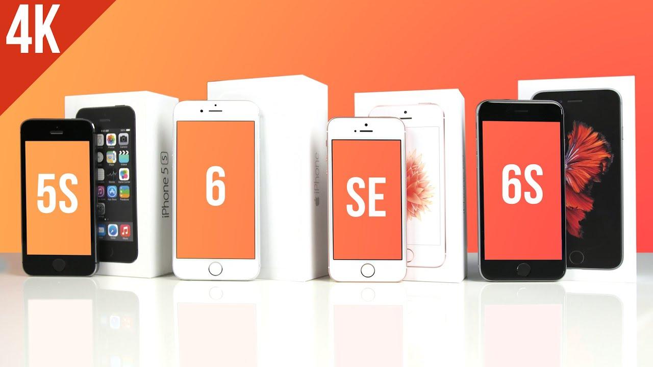 Iphone 5s Vs Se Vs 6