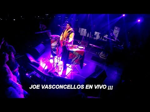 Joe Vasconcellos mágico - las seis - Huellas en Chañaral en vivo ¡¡
