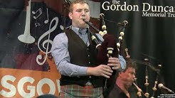 2018 Glasgow  Cameron Mac DOUGALL   Musique irlandaise Gordon Duncan Memorial Solo Competition 19 ao