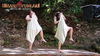 Bizans Oyunları   Maya Kadınlarının Havlu Dansı Kamera Arkası