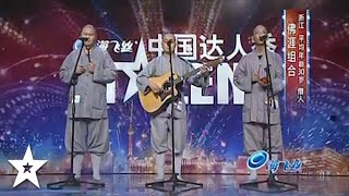 The SINGING MONKS on China's Got Talent | Got Talent Global