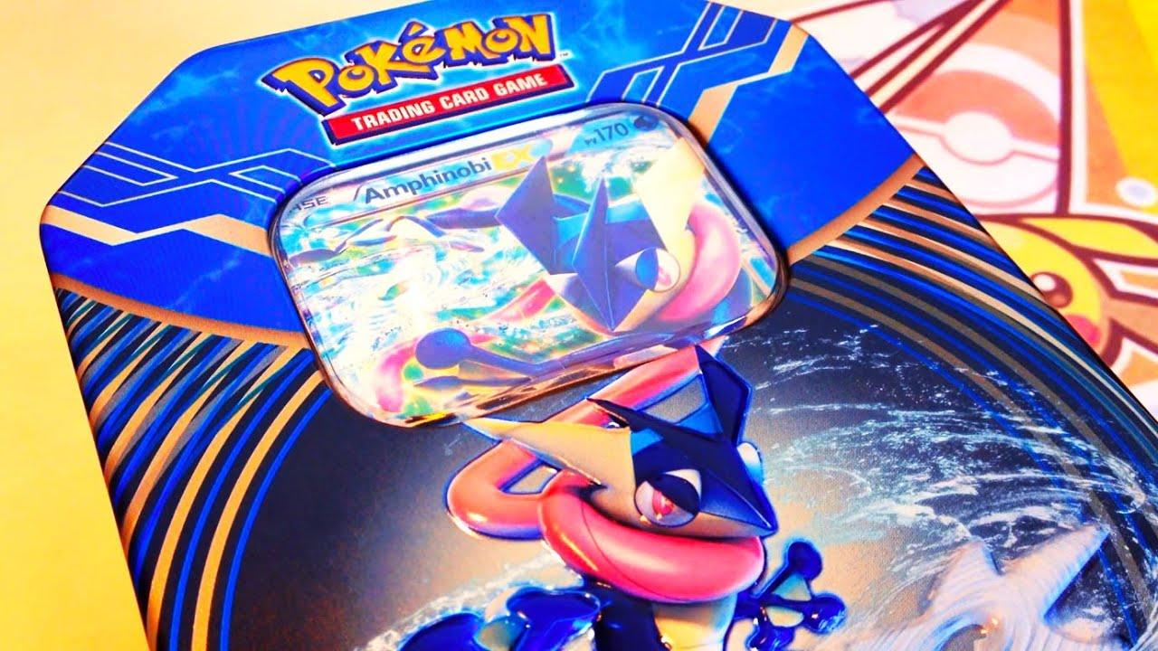 Ouverture Pokemon Pokebox Amphinobi Ex Fr Un Mega Pokemon En