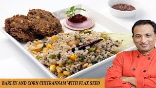 CORN AND BARLEY TEMPERED RICE WITH FLAX SEED WADA
