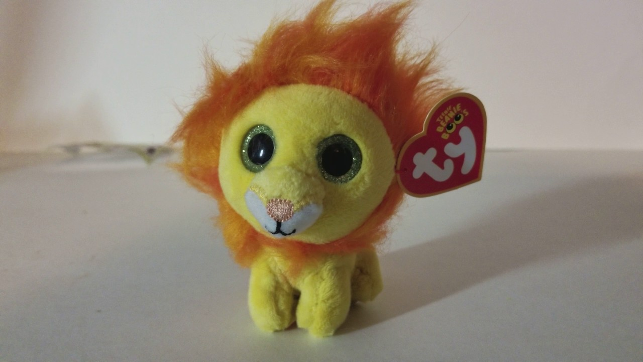 8d0961e6f8e 4K TY Teenie Beanie Boo  s Happy Meal Toy  1 Bushy the Lion Tickets To Toy  Time