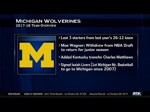 2017 Basketball Media Days - Michigan