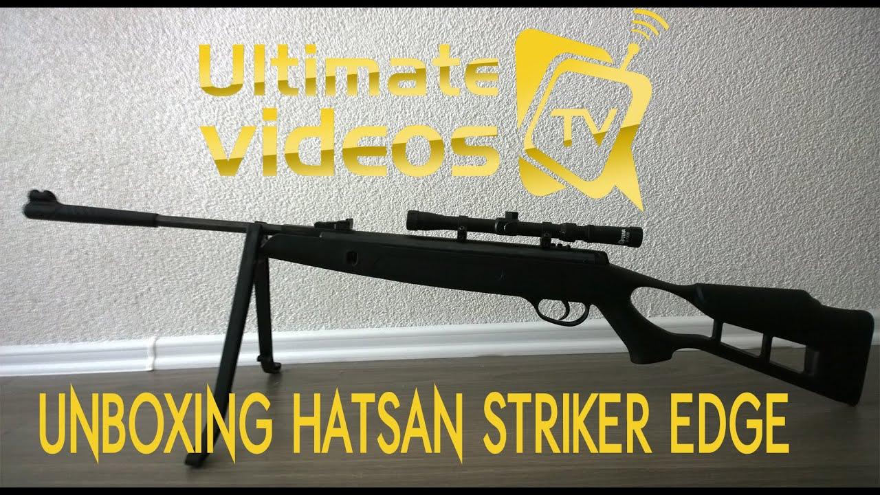 b72653b40f HATSAN STRIKER EDGE 4.5mm - UNBOXING 2016 - YouTube