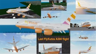 ROBLOX | FlyKutos - LAST A380 FLIGHT