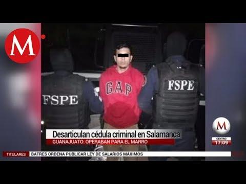 Desarticulan célula criminal en Salamanca; operaba para 'El Marro'