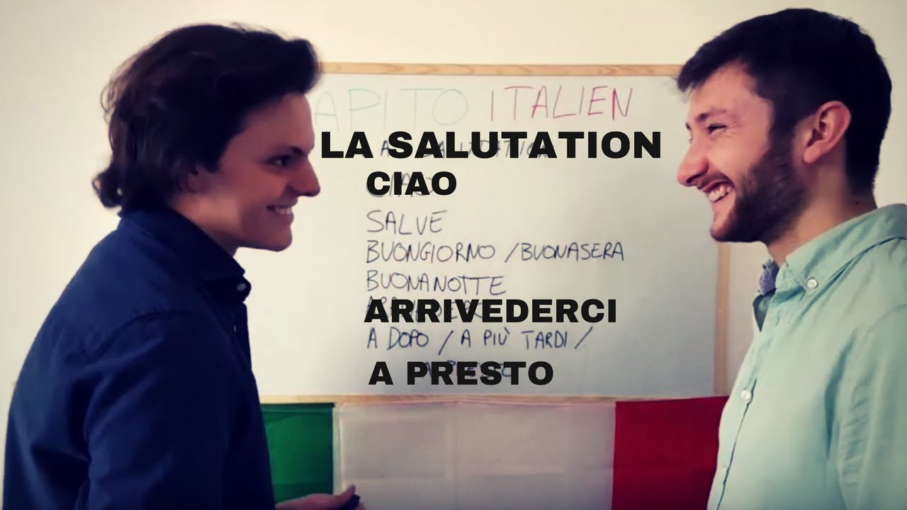bonjour en italien