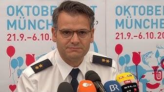 Die Oktoberfest-Bilanz der Münchner Polizei 2019