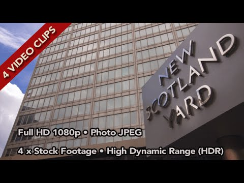 New Scotland Yard - Videohive Stock Footage