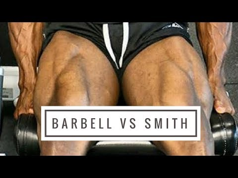Barbell Squat VS Smith Machine Squat (Which Is Best For Leg Hypertrophy?)