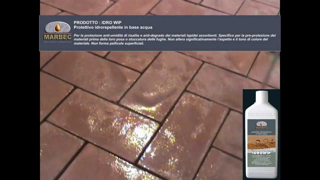 Prodotti Per Ravvivare Il Cotto prodotto per il trattamento del cotto: idro-wip protettivo idrorepellente  in base acqua