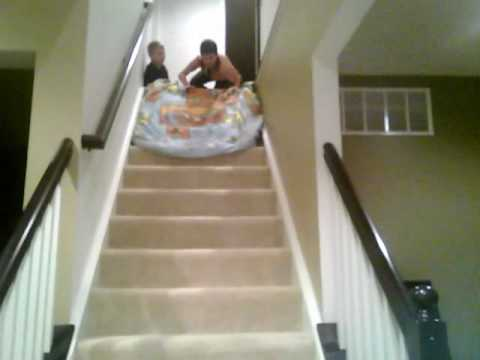 Beautiful How To Slide Down Stairs