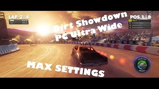 Dirt Showdown Gameplay | PC Ultra Wide 1080P @ 60FPS