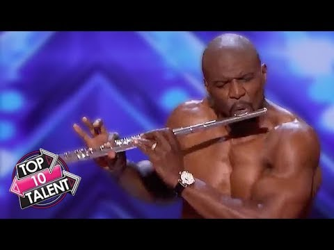 TOP 10 FUNNIEST HOST Moments On Britain And America's Got Talent!