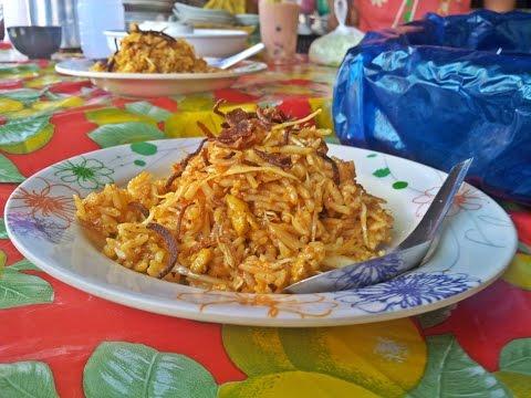 ข้าวยำพม่ารสชาติอร่อยเหมือนข้าวคลุกน้ำพริกปลาย่าง Myanmar Rice Salad