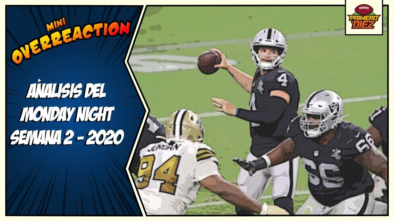 Análisis del Saints vs Raiders - Mini Overreaction - Semana 2 NFL 2020