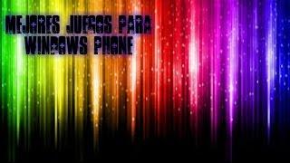 Top 5 mejores juegos para Windows Phone