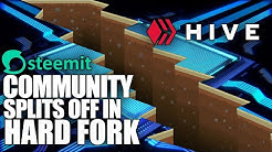 STEEM Blockchain Hard-Forks Into HIVE, as Centralized Takeover Reaches Inevitable Conclusion!