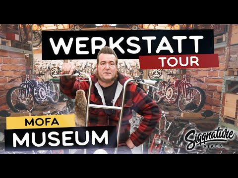 VERRÜCKTE MOFA WERKSTATT   Ein Mofa Museum seltenster Schätze