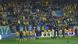SFC Opava x FC Baník Ostrava - závěrečná děkovačka