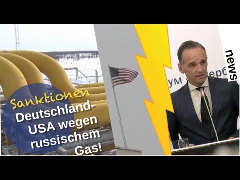Sanktionen USA-Deutschland wegen russischem Gas!