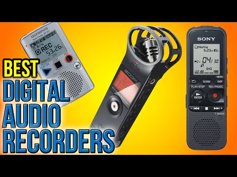 9 Best Digital Audio Recorders 2016
