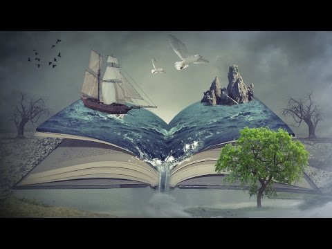 sea book photo manipulation | photoshop tutorial cc