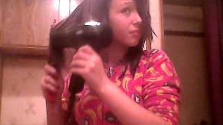 How I do my hair out of the shower Thumbnail
