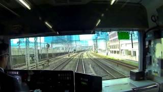 2017 東京自由行 - 搭乘JR山手線在東京都內轉一圈 (新宿起訖站順時針方向) 前面展望 thumbnail