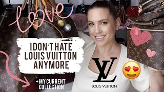 BACK TO LOVING LV + CURRENT LOUIS VUITTON COLLECTION | MELSOLDERA