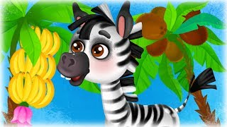 Кокоси і Банани - Дитячі Пісні та Мультфільми Українською - З Любовю до Дітей