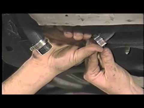 Ford - Filtering the A/C system after compressor replacement
