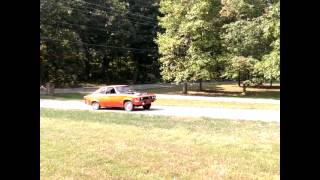 Opel Manta with BMW M42 first test drive