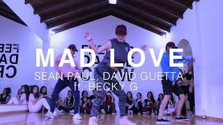 MAD LOVE - Sean Paul, David Guetta ft. Becky G - Coreografia Caro Pinto Video