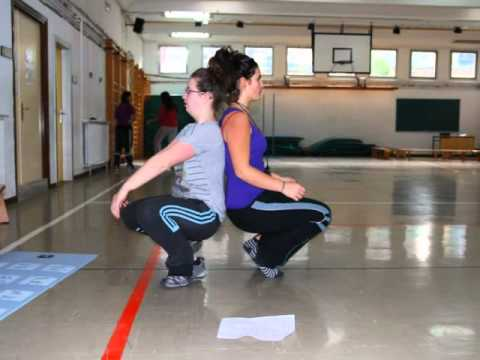 Fotos Narradas Educacion Fisica Deportes Cooperativos Youtube