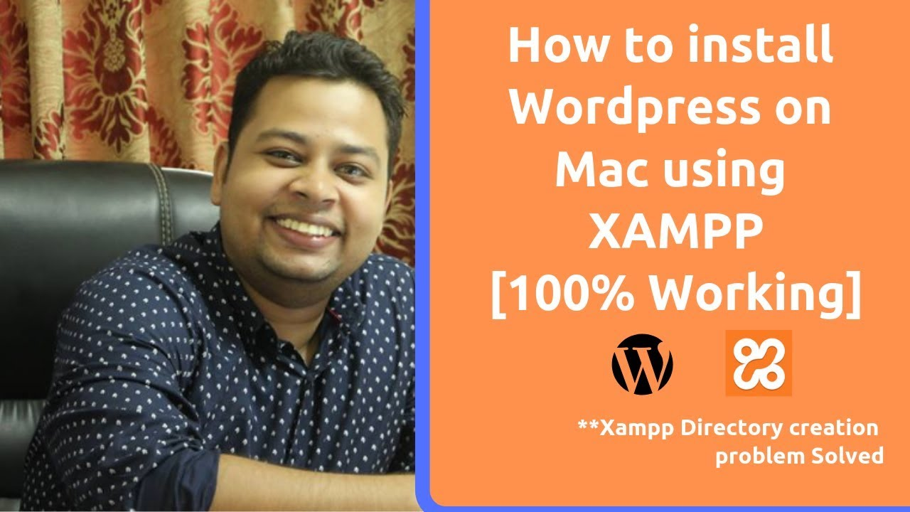 How to install wordpress on mac using xampp 2019 | Fix WP localhost directory creation problem