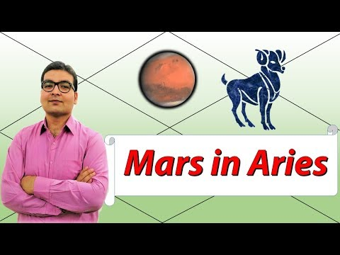 Mars In Aries (Traits and Characteristics) - Vedic Astrology