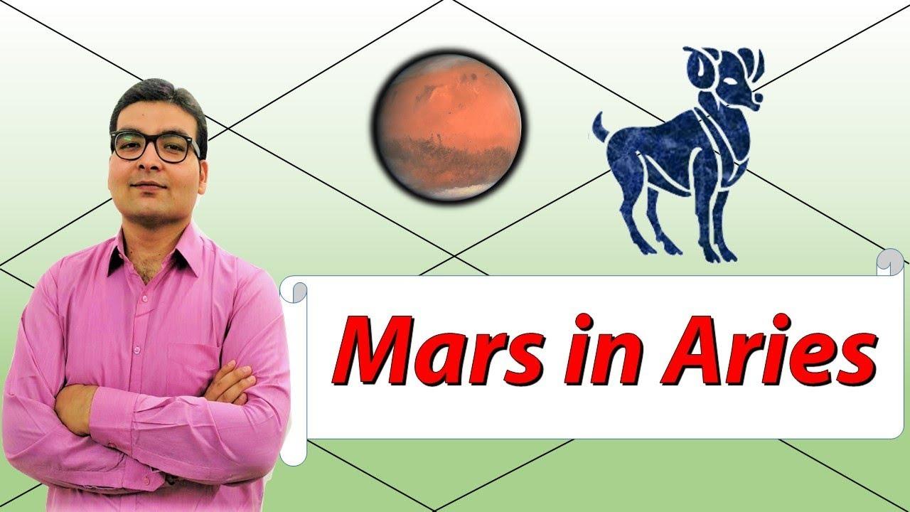 vedic astrology mars in aries