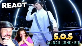 VOCAL COACHES REACT: DIMASH - S.O.S. (ARNAU CONCERT)