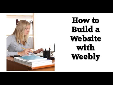 How To Build A Website With Weebly Youtube