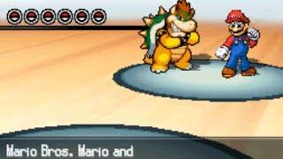 Pokemon White 2 Hack: Vs. Mario Bros. Mario and Koopa King Bowser