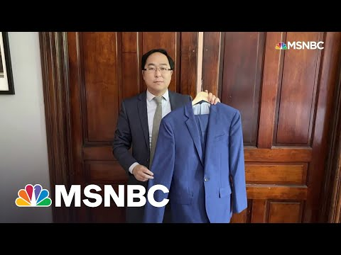 Rep. Kim Talks Donating Suit He Wore To Clean Up Capitol Riot To Smithsonian