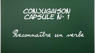 C1 - Reconnaître un verbe