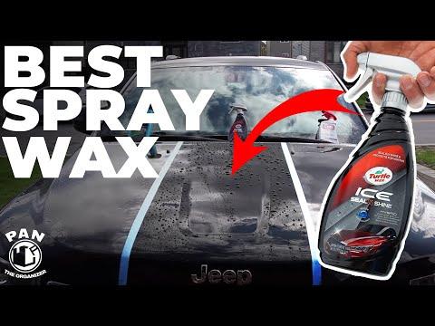 BEST SPRAY WAX UNDER $10 : Turtle Wax Ice Seal N Shine (REVIEW)
